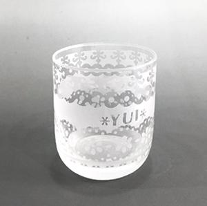 らくらくコースの見本グラス